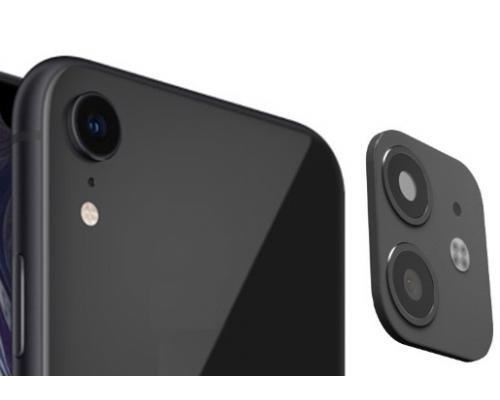 Защитное стекло для камеры iPhone XR в дизайне iPhone 11