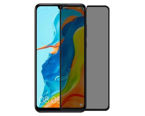 """Защитное стекло 3D для Huawei P30 """"Антишпион"""""""